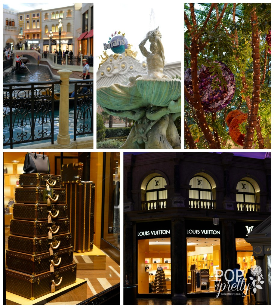 Las Vegas trip photos Grand Canal