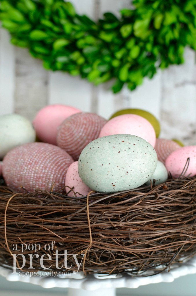 Easter decorating - eggs