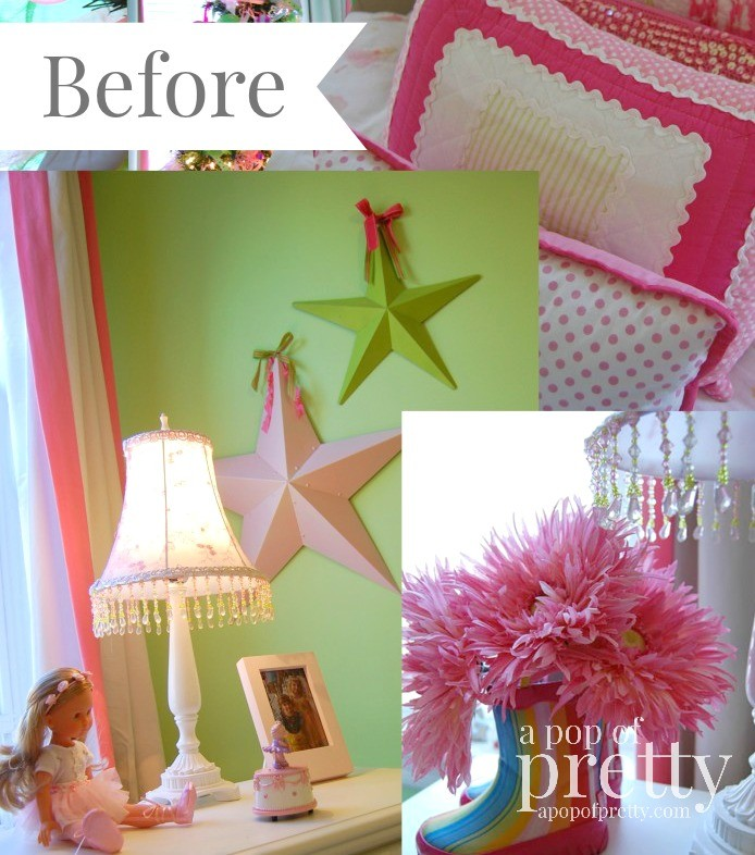 Pink-and-Green-Ballerina-Girls-Room-A-Pop-of-Pretty-694x1024
