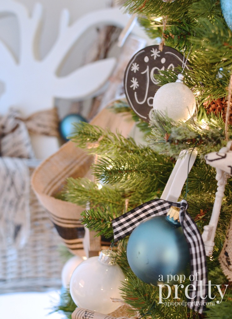 French inspired Christmas decor 10