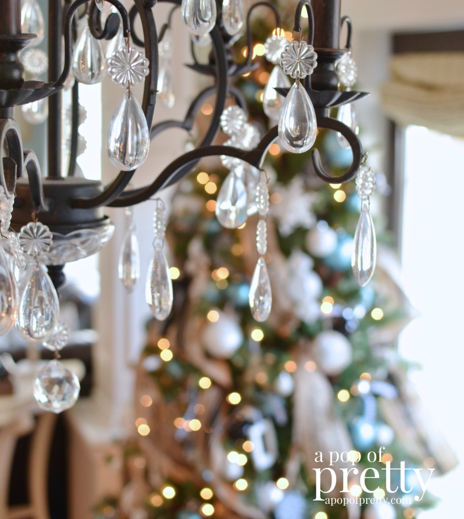 French inspired Christmas decor home tour 8