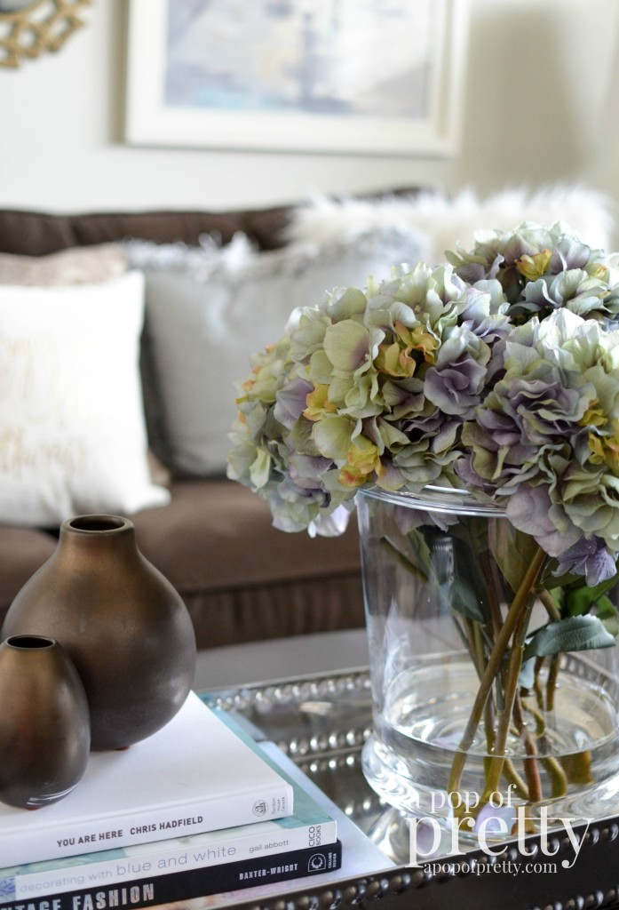spring flowers decorating