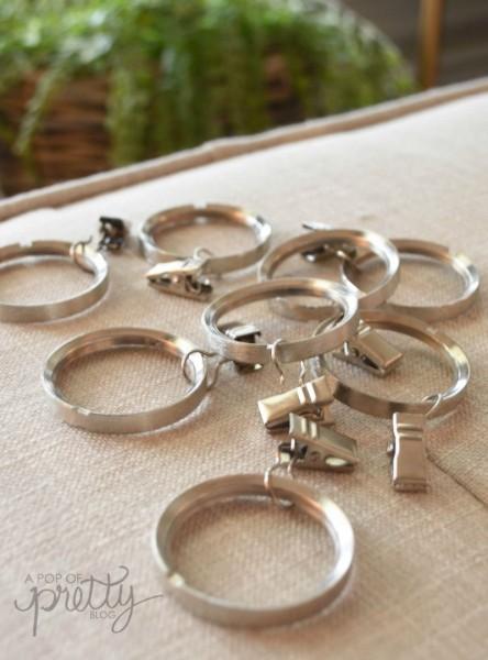 curtain clip rings