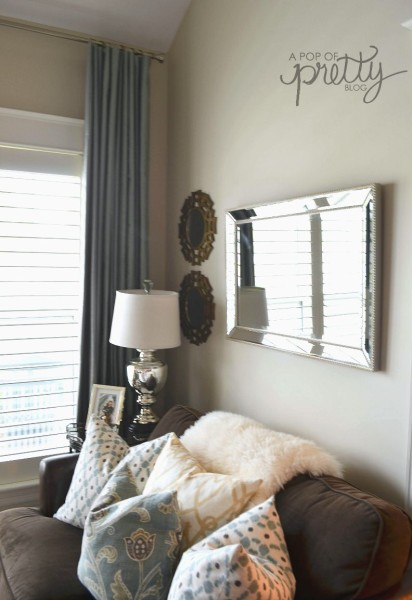 pleated drapes from grommet curtains