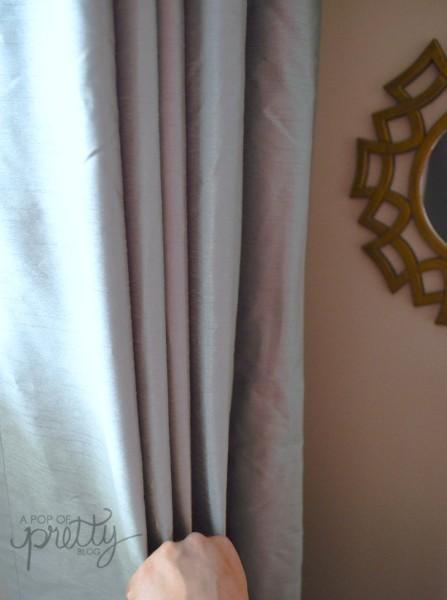 curtain hack pleated drapes