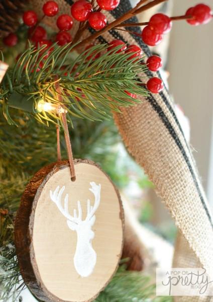Cottage Christmas Tree 2