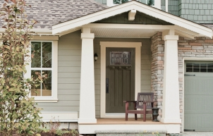 Craftsman Home Exterior from Builder Grade: Get the Look!