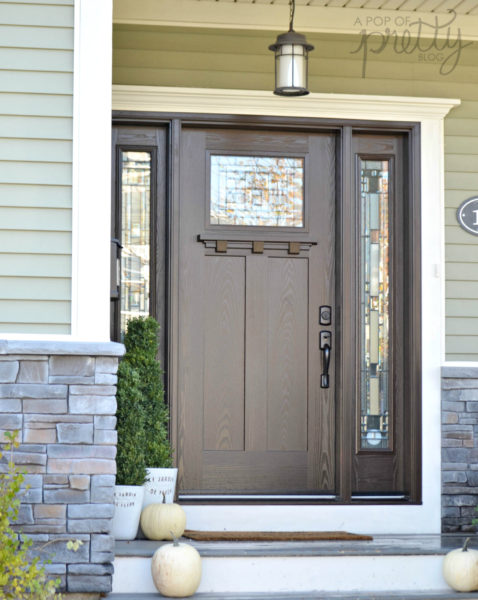 Our New Craftsman Front Door from Masonite - My Dream Door
