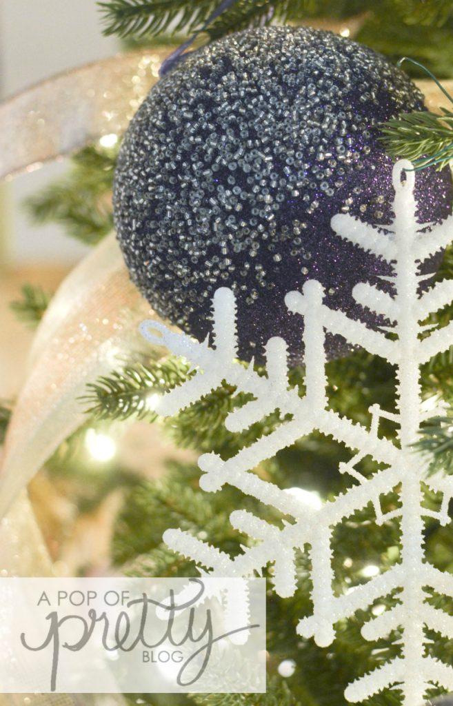Christmas ornament for Sugar Plum Fairy tree