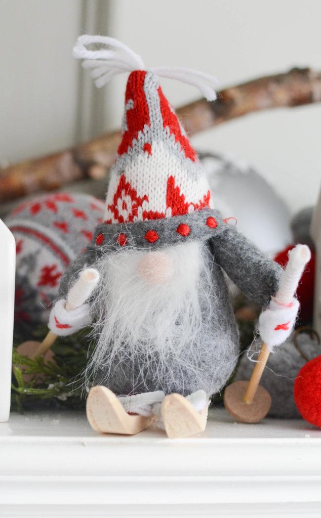 Nordic Christmas elf decoration