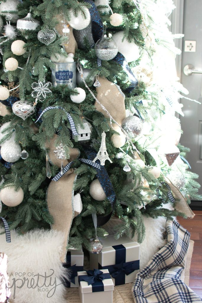 what order to put treasured ornamnents on a Christmas tree