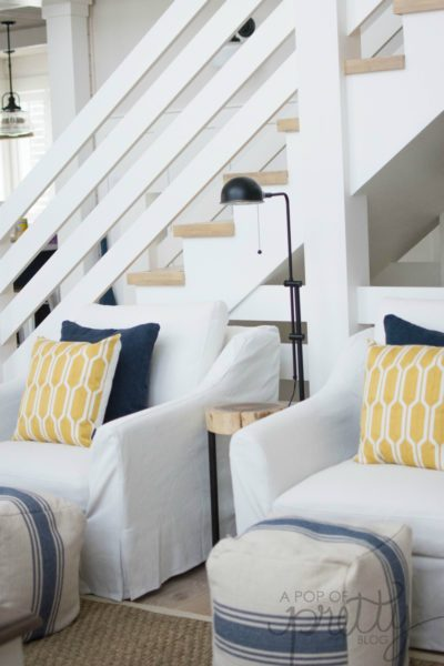 IKEA Farlov chairs coastal cottage style