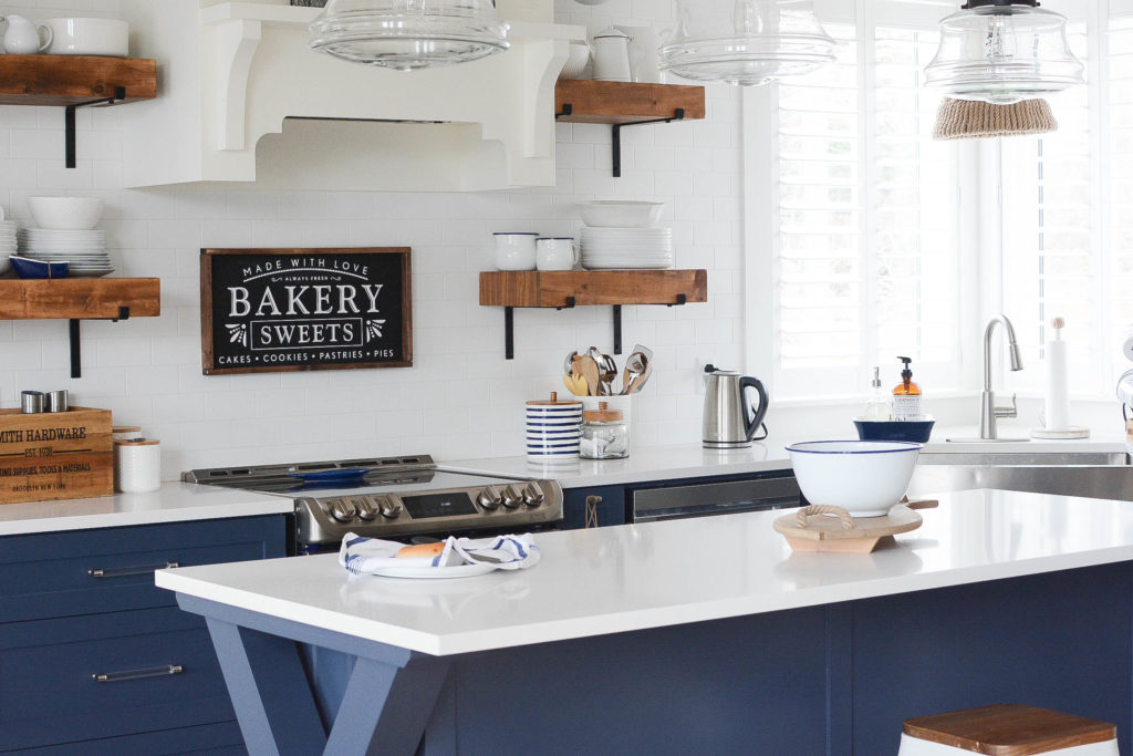 Open Shelving Kitchen Trend - Are they for you? What to consider.