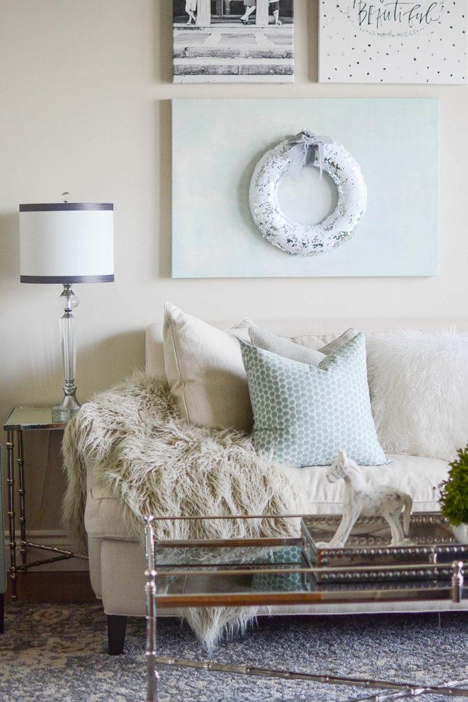 Edgecomb Gray living room