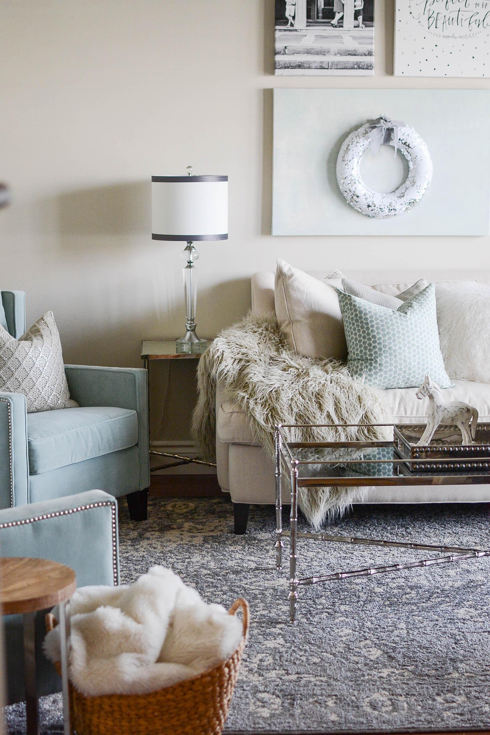 Edgecomb Gray Benjamin Moore living room