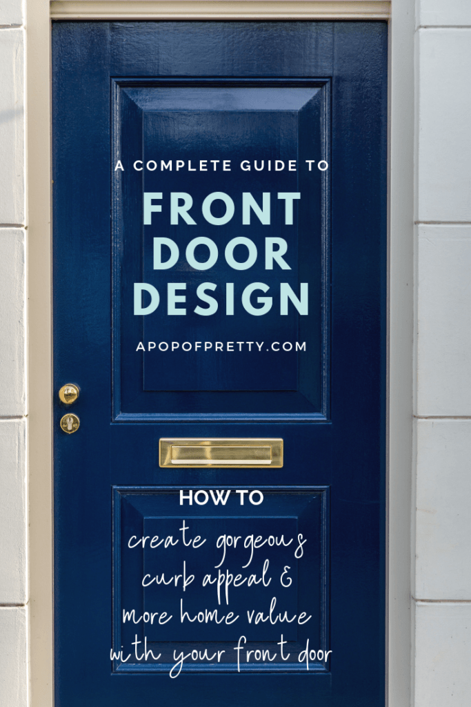 complete guide to front door design