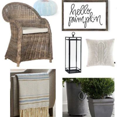 Fall Porch Decor: 10 Things for a Cozy, Modern Cottage Porch
