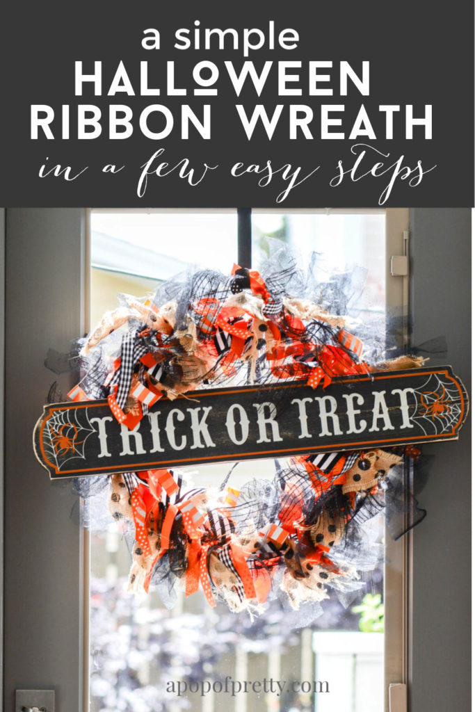 How to make a tied ribbon wreath for any season