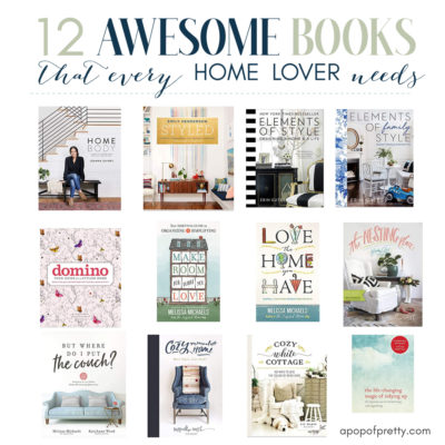 Gift Ideas for Home Lovers: 12 Books I Love