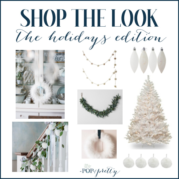 White Christmas Decorations Shop the Look