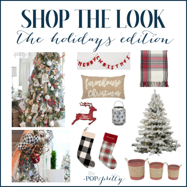 Shop Christmas Decor - red plaid buffalo plaid