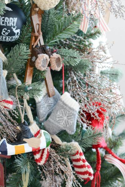 HBC Christmas decoration canoe