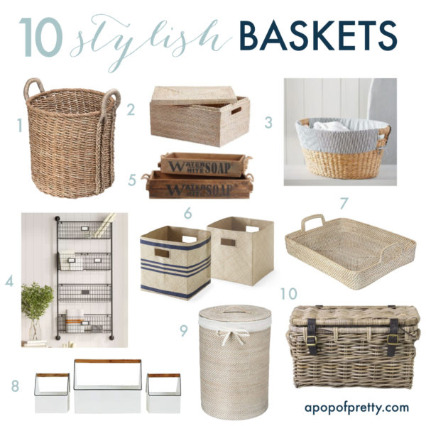 clear the clutter baskets