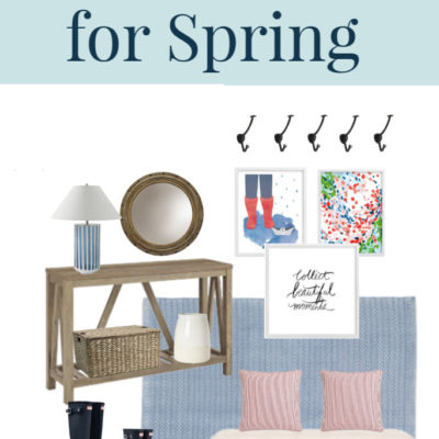 Foyer Decor Ideas for Spring (with Mood Boards!)