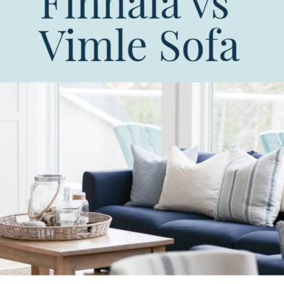 IKEA Finnala Sofa (vs Vimle)