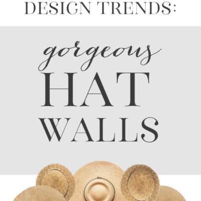 Straw Hat Wall Decor Trend (5 Inspiring Displays)
