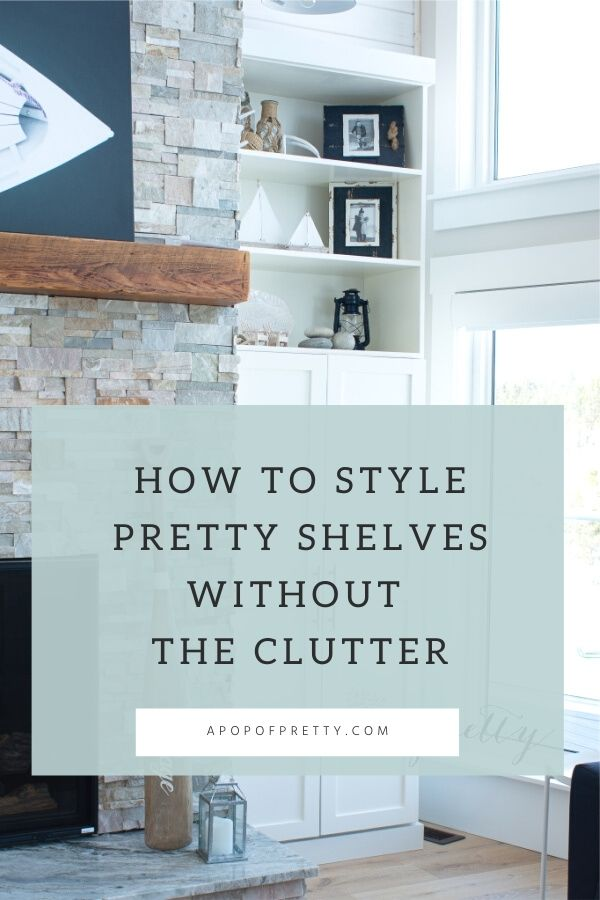 how to style a bookself