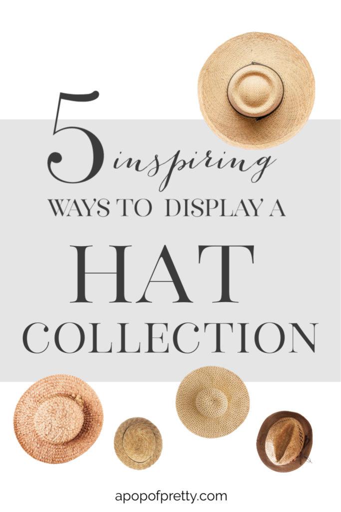 coastal hat wall display