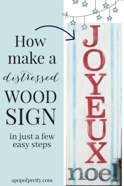 How to make a wood sign