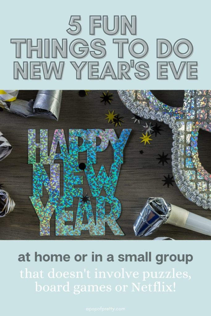 things to do New Year's Eve