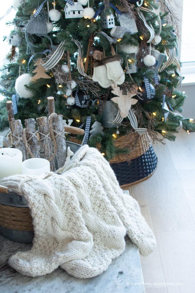rustic Christmas tree inspiration