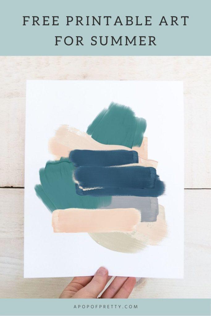 abstract art printable
