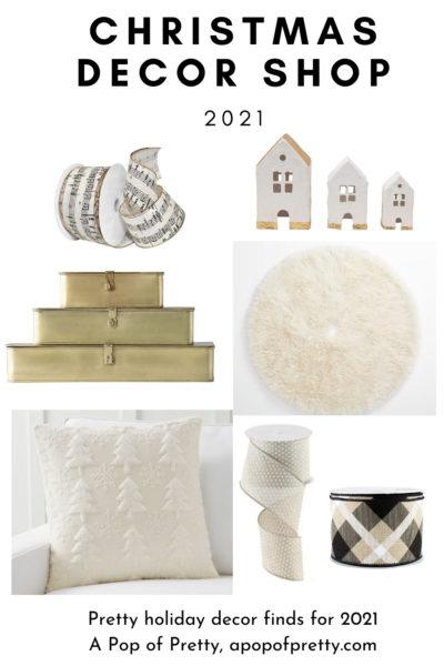 White Christmas decor ideas