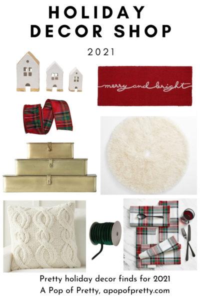 red plaid Christmas decor ideas