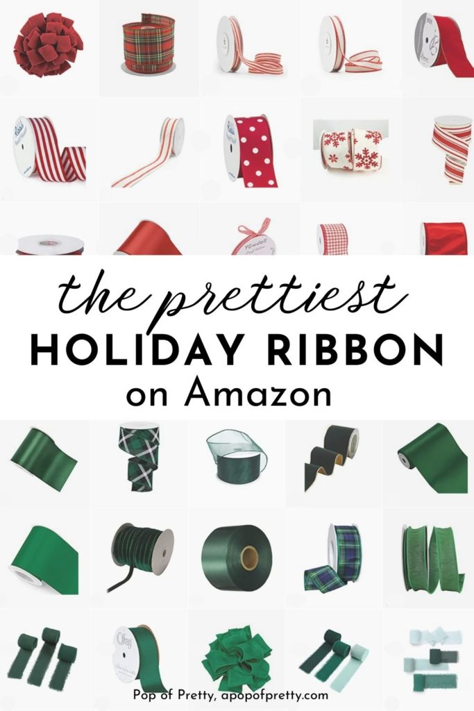 Amazon Christmas ribbon